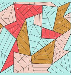 cloth mosaic seamless pattern vector image