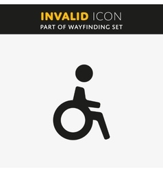 Invalid icon vector