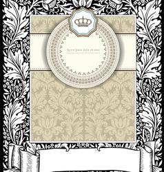 Old card vector