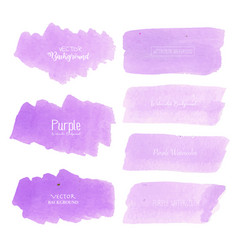 Purple watercolor background vector