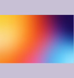 soft color abstract gradient blurred background vector image