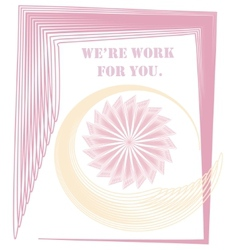 Were work for you vector image