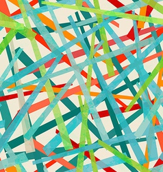 colored strips seamless pattern vector image