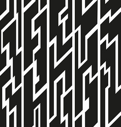 black tribal seamless pattern vector image