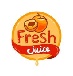 Fresh juice emblem 6 vector