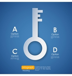 Key to Success vector image