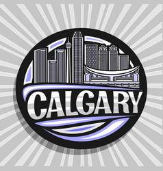 logo for calgary vector image
