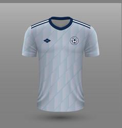 realistic soccer shirt scotland away jersey vector image
