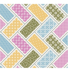 Seamless japanese traditional pattern vector