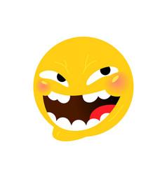 Smiley internet meme emotional smiley for vector