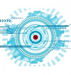 technology illustration vector image