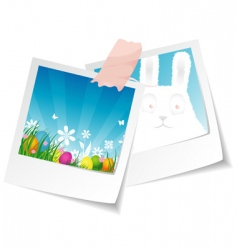 photo Easter vector image vector image