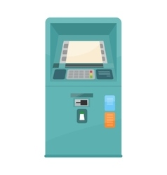 Automated teller machine vector