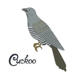 Bird cuckoo vector