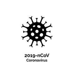 coronavirus covid19 19 icon pandemic corona vector image