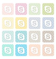 Icons-social21 vector