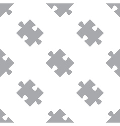 New Puzzle seamless pattern vector image