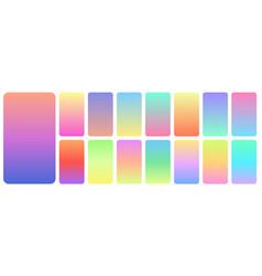 pastel gradient background soft pastels color vector image