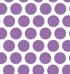 Polka dot background seamless pattern Purple dot vector