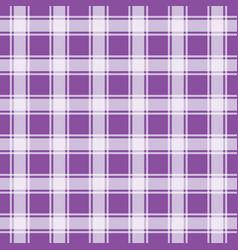 Purple gingham pattern geometric background vector