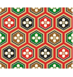 seamless japanese traditional pattern vector image vector image