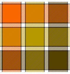 orange khaki marsh color check plaid seamless vector image
