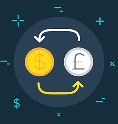 Business or Finance Category Flat Minimal Style vector image vector image