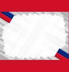 Border made with liechtenstein national colors vector