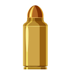 Bullet icon cartoon style vector
