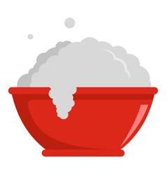 Washing basin icon flat style vector