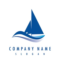 Yatch logo vector