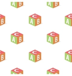 Baby s cube cartoon icon for web and vector image vector image