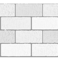 concrete white vector image