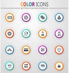Casino icon s vector