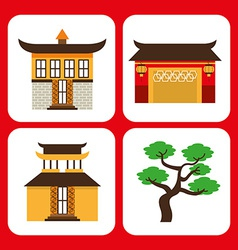 Chinese culture vector