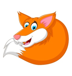 Cute Cartoon Fox vector