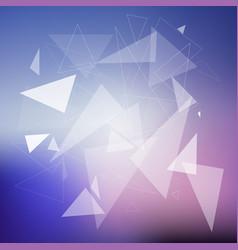 Geometric design background vector