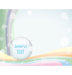 Light background with layout vector image