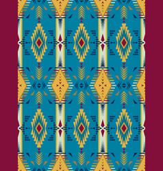 Native southwest american indian aztec vector