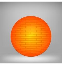 Orange Sphere vector