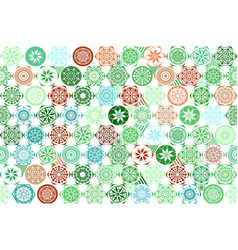 seamless mega gorgeous seamless patchwork pattern vector image