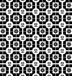 skullflower vector image