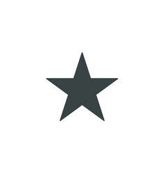 Star icon simple vector