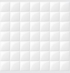 white tile background vector image