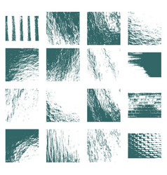 abstract relief surface backgrounds set vector image vector image