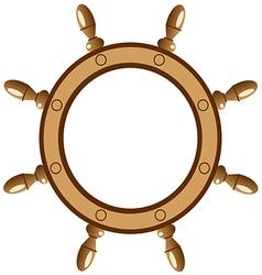 ship wheel vector image