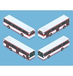 City bus transport vector image