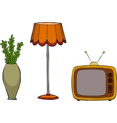 furniture postmodernism vector image