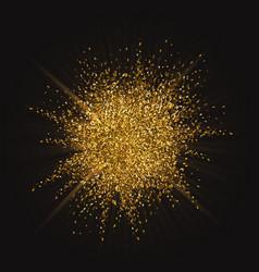 glitter burst background vector image