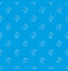 Marijuana recipe pattern seamless blue vector